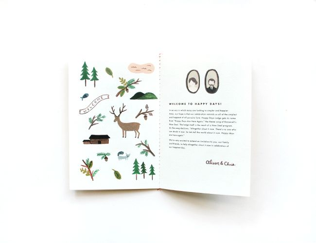 Rifle Paper Co. - RIFLE blog - new (sort of) work: alison &chris