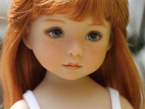 """Dianna Effner 13"""" Little Darling """"Caroline"""".   eBay. Sold 4/30/13 for $889.99."""