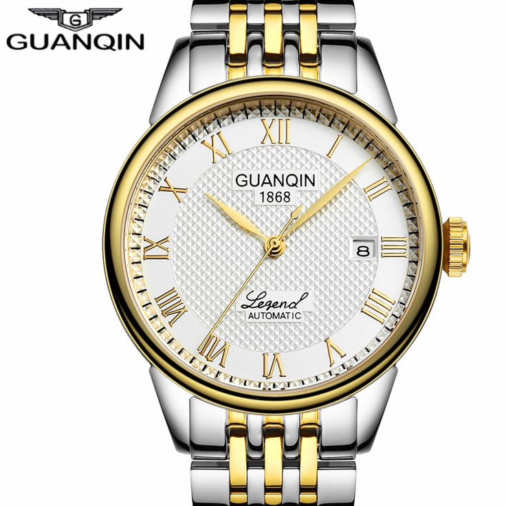 relogio masculino GUANQIN Mens Watches Top Brand Luxury Automatic Self-Wind Date Watch Men Business Steel Mechanical Wristwatch     Tag a friend who would love this!     FREE Shipping Worldwide     Buy one here---> https://shoppingafter.com/products/relogio-masculino-guanqin-mens-watches-top-brand-luxury-automatic-self-wind-date-watch-men-business-steel-mechanical-wristwatch/