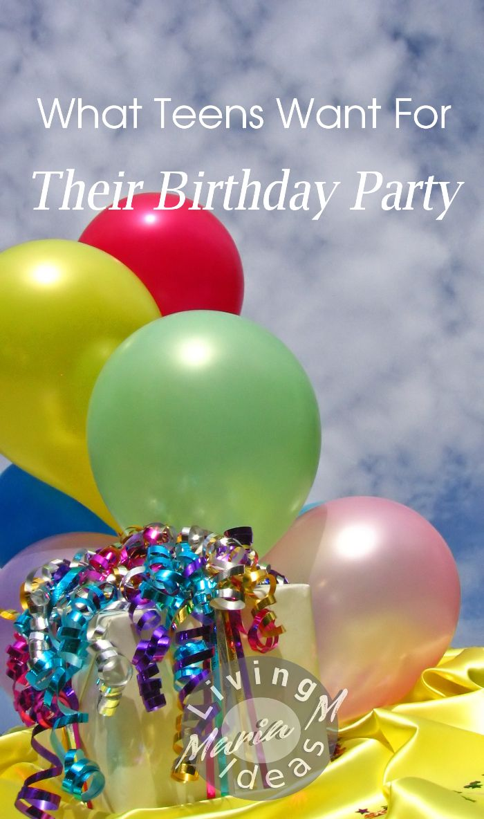 What teens want for their birthday party? Read here. Link up your birthday post for some extra traffic