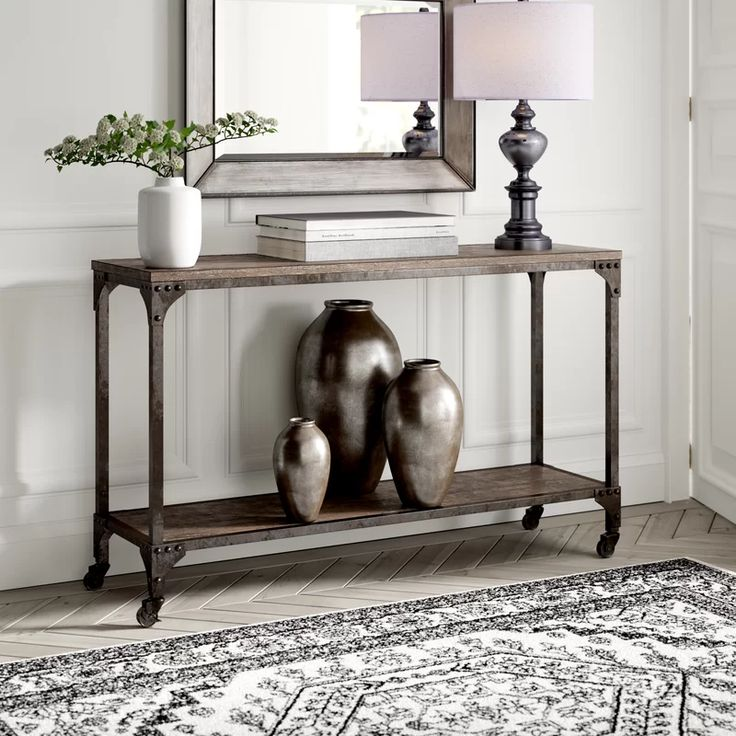 greyleigh living room furniture  wayfair  hallway table