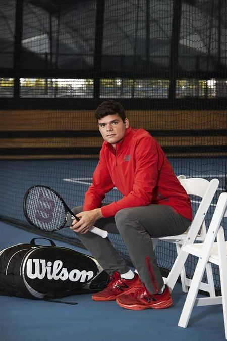 Milos_Raonic_Pant and Jacket_New_Balance_Roland_Garros