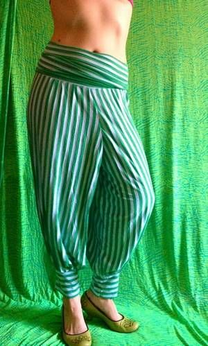julibooli@Craftster genie pants for Burning Man - CLOTHING
