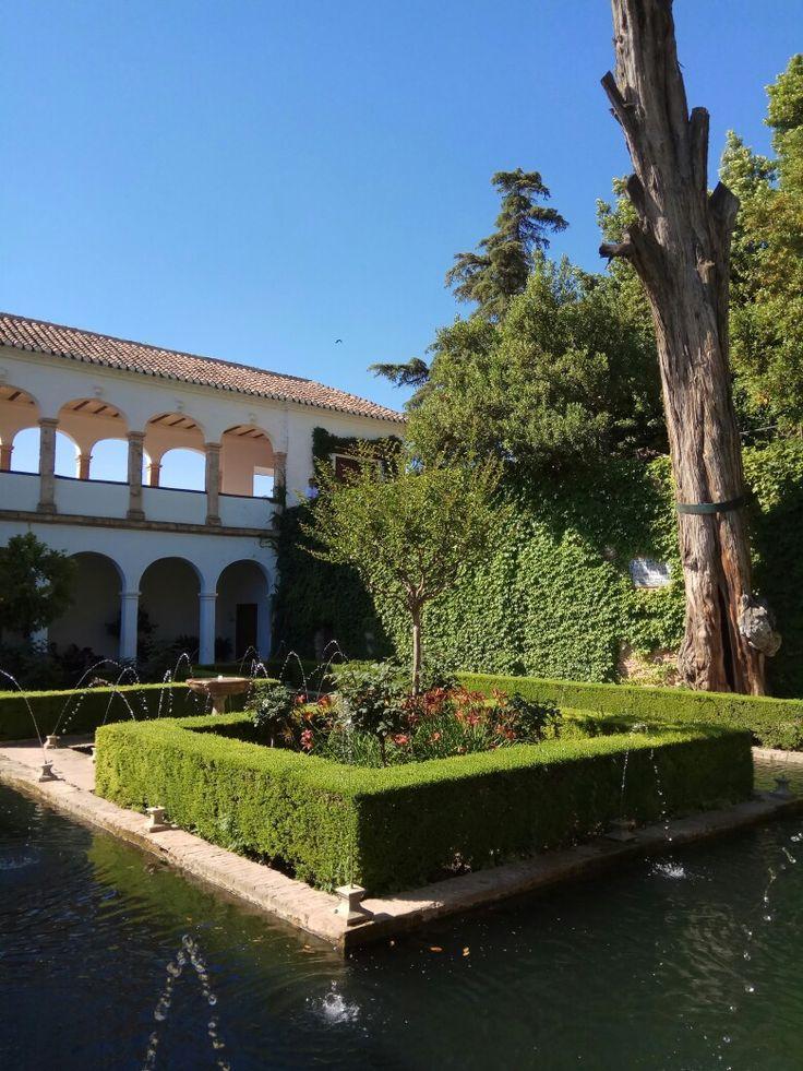 Alhambra Granada Spain Andalucía
