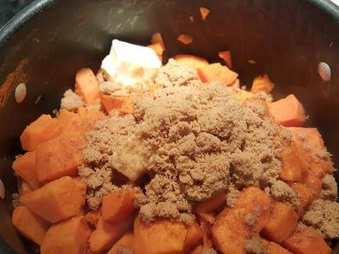 Great recipe for Candied yams. Extremely easy and super tasty. Make any night taste like the holidays.