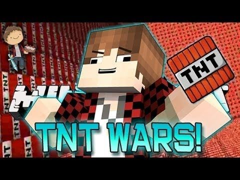 Minecraft: TNT WARS Mini-Game! How To Build CRAZY TNT Cannons! (Bajan Canadian, Vikkstar, Pete) -http://goo.gl/GSeO05