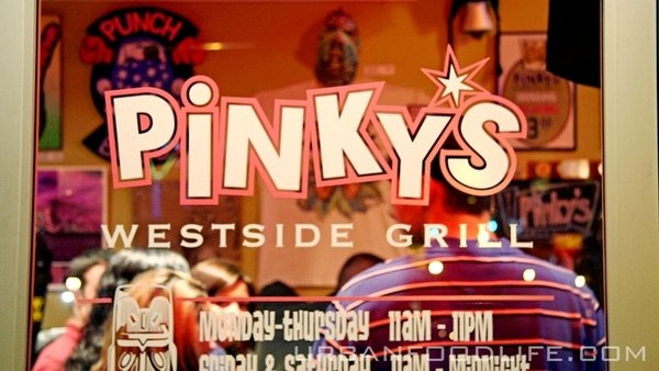 one of Charlottes most popular restaurants. Pinkys Westside Grill.