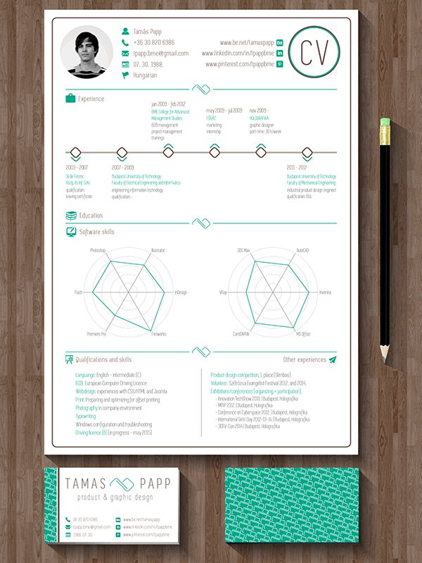 30 best CV images on Pinterest Resume design, Carte de visite and - fresh invitation letter format denmark visa