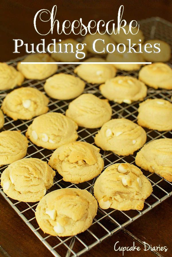 Cheesecake Pudding Cookies