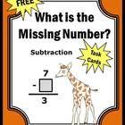 Subtraction Games Freebie!