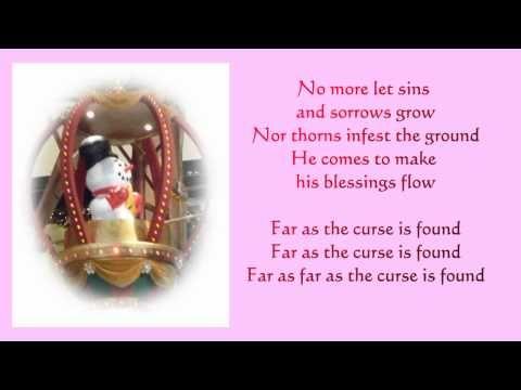 Joy to the world lyrics - piano and voice music - Christmas songs | Joy to the world lyrics, Joy ...