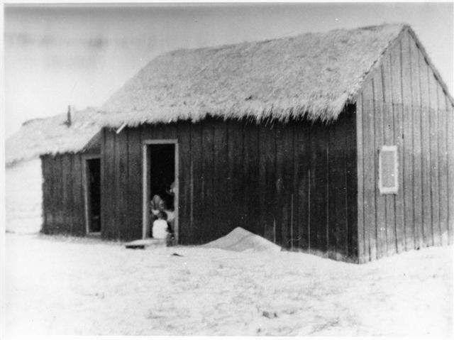Ilha da Armona, 1928. Casa do Dr. Francisco Fernandes