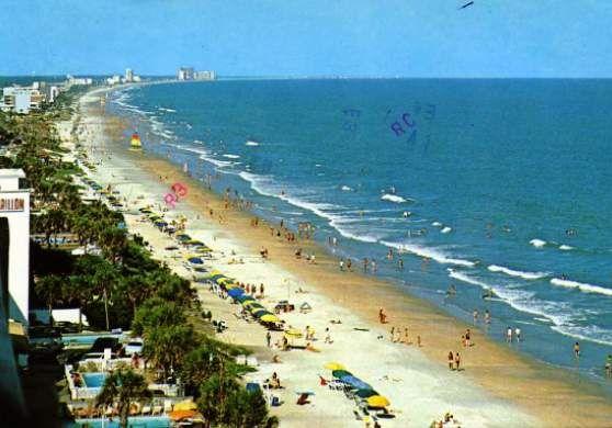 Myrtle Beach is the # 1 beach in South Carolina