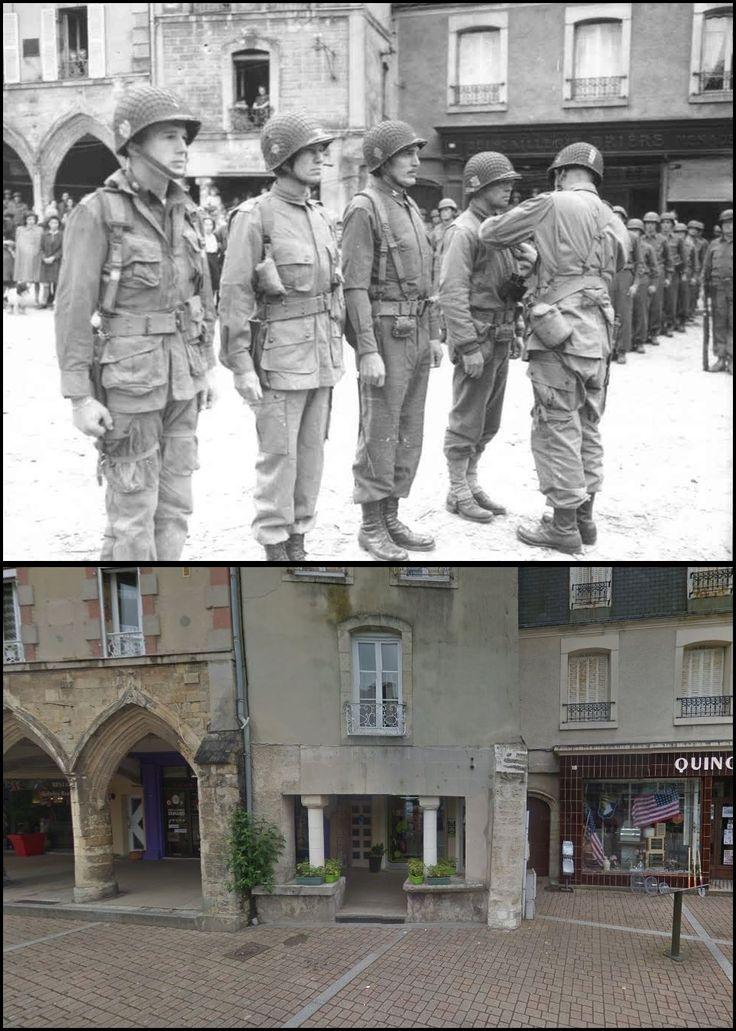 Carentan, Place de la République #NORMANDIA1944