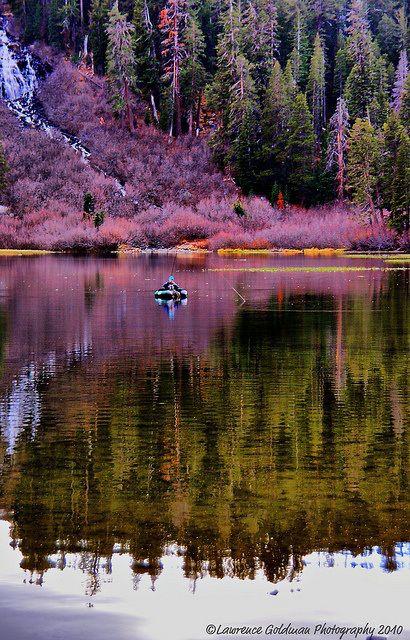 Mammoth Lakes, California.