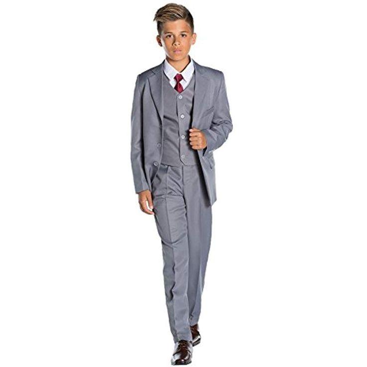 Glänzend Penny Anzug für Jungen Grau Jungen Ball…