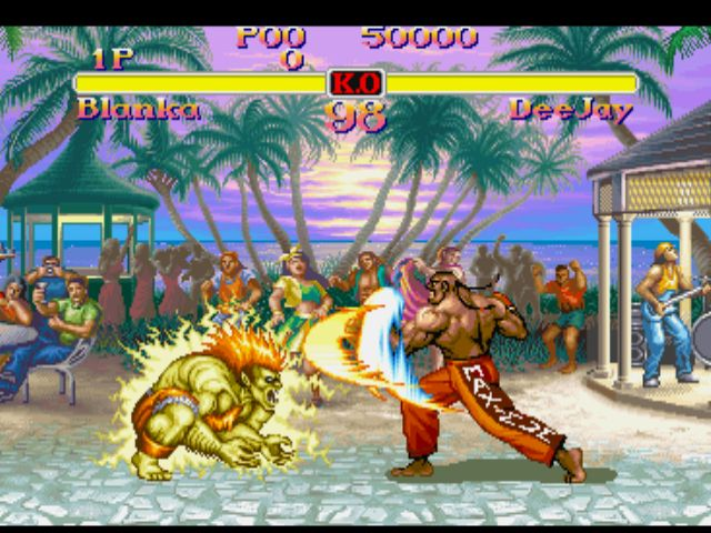 Street Fighter Collection Game Images