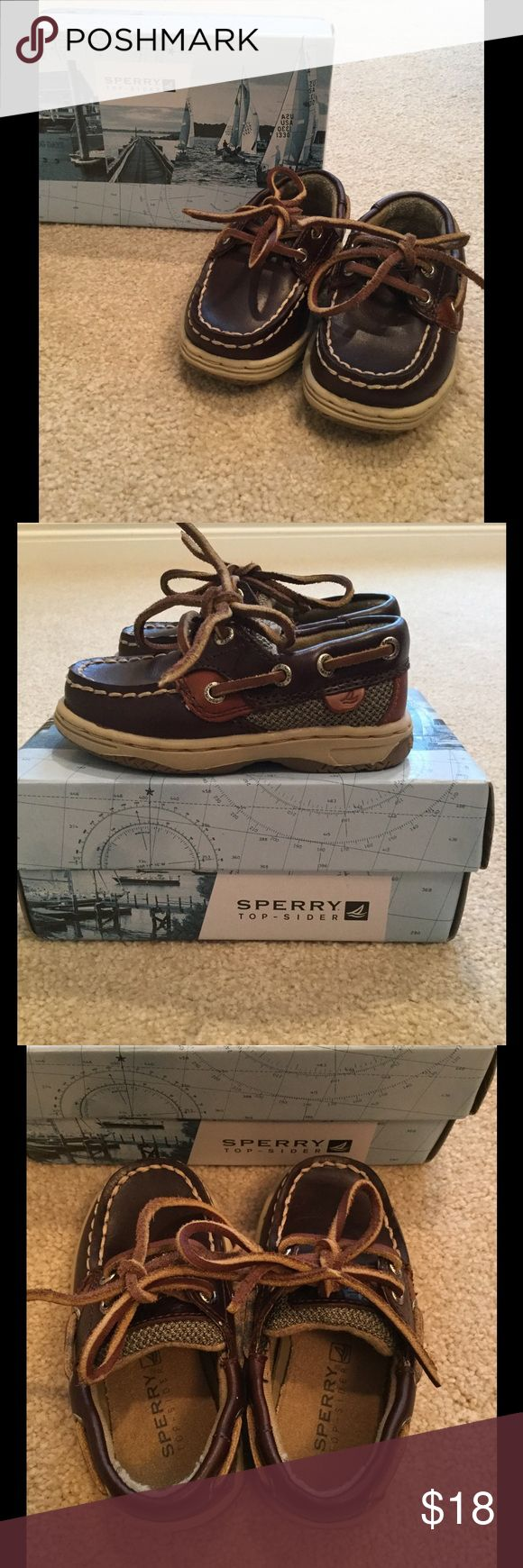 Sperry Little Boys Boat Shoes Adorable Little Boys Sperry Boat Shoes. Perfect Condition. Sperry Shoes