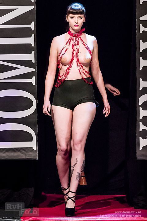 Red Chain at the Dominatrix show.