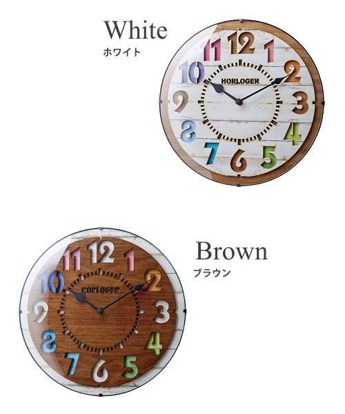 電波時計フォルリ[FORLI]CL-8332インターフォルム[interform]【掛け時計壁掛け時計おしゃれ時計壁掛け雑貨北欧テイスト人気ウォールクロックレトロ楽天通販】