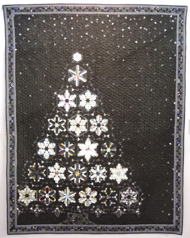 319 best Christmas Quilts images on Pinterest | Quiltblöcke, Chef ...