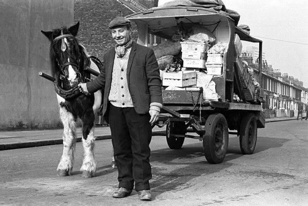 Home delivery 1950s style. #london.