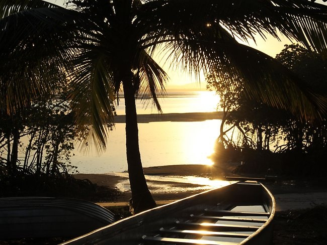 Sunset at the town of 1770 in Queensland is a relaxing affair. Picture: Sally Knowles-Jackson