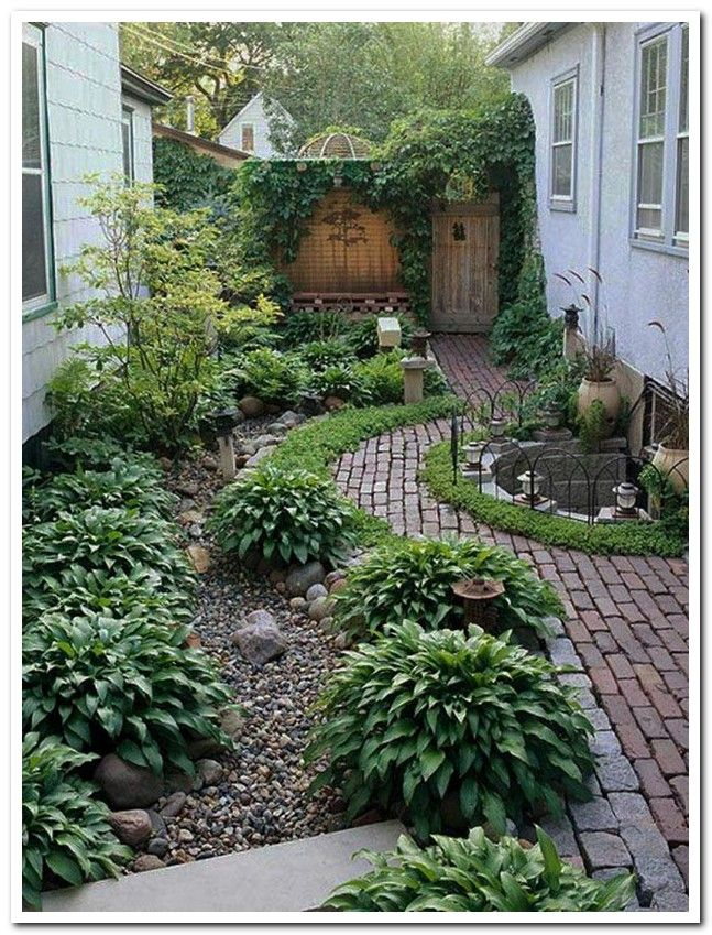 44 Magical Side Yard And Backyard Gravel Garden Design Ideas 26 Landshaft Sad Dom