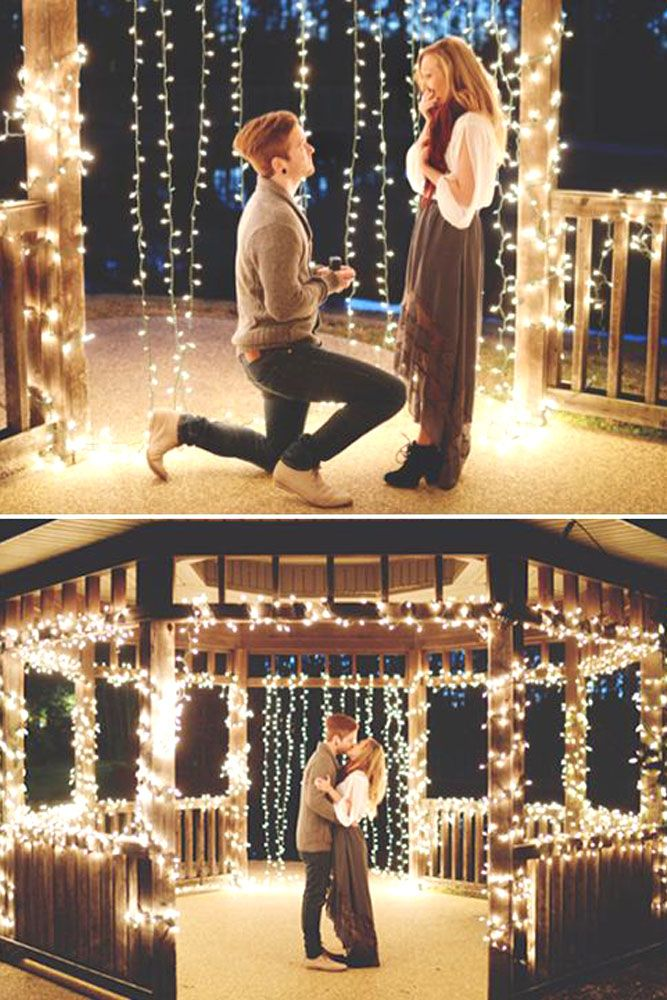 Romantic Proposal Ideas So That She Said Yes ❤ See more…