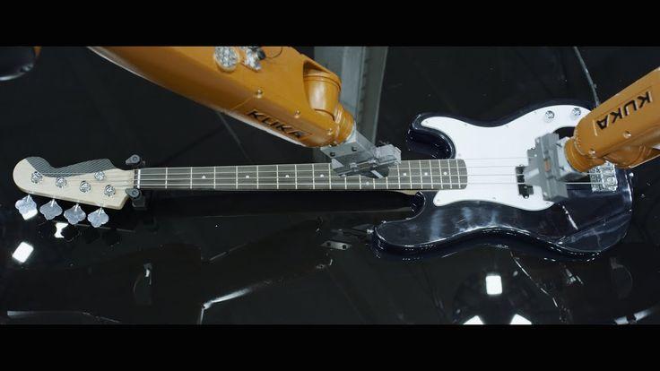 AUTOMATICA 4k - Robots Vs. Music - Nigel Stanford