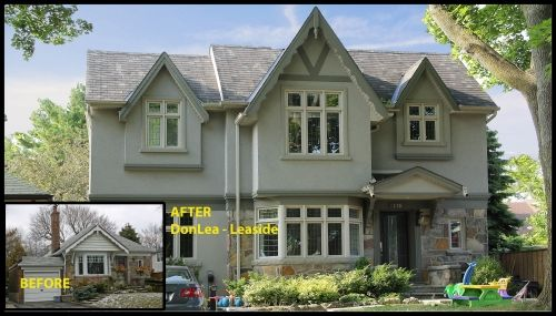Before & After picture of home project in DonLea-Leaside Ontario CAN #renovation #modularhome