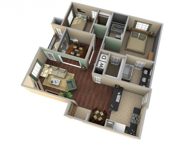 341 best house plan images on Pinterest Floor plans, House design - Plan Maison Sweet Home 3d
