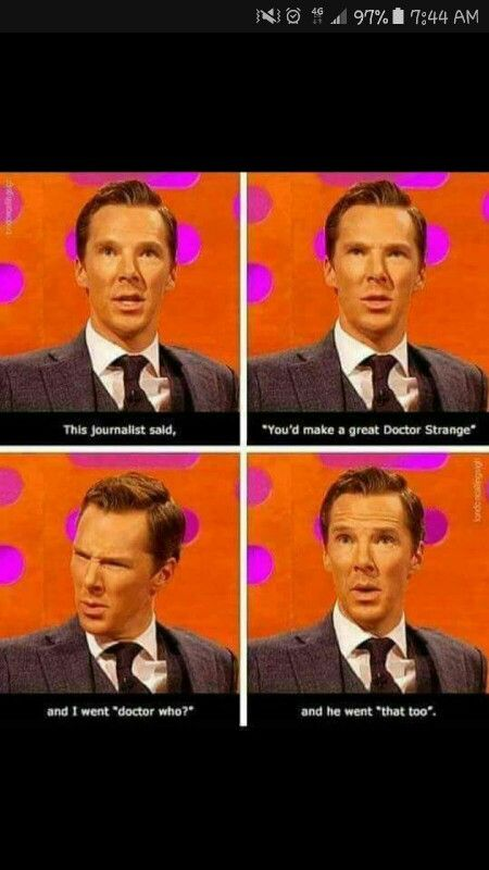 LOL, no, please don't make him play Doctor Who .... No need, filmmakers, no need :'D
