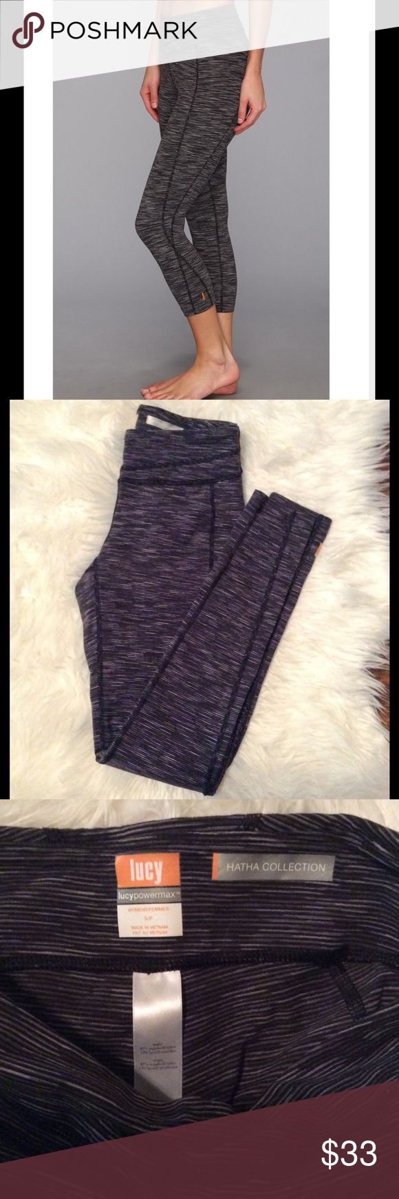 Lucy Hatha legging EUC Lucy athletic wear Hatha legging. These are very good quality, and rival lululemon. Size small. Lucy Pants Leggings