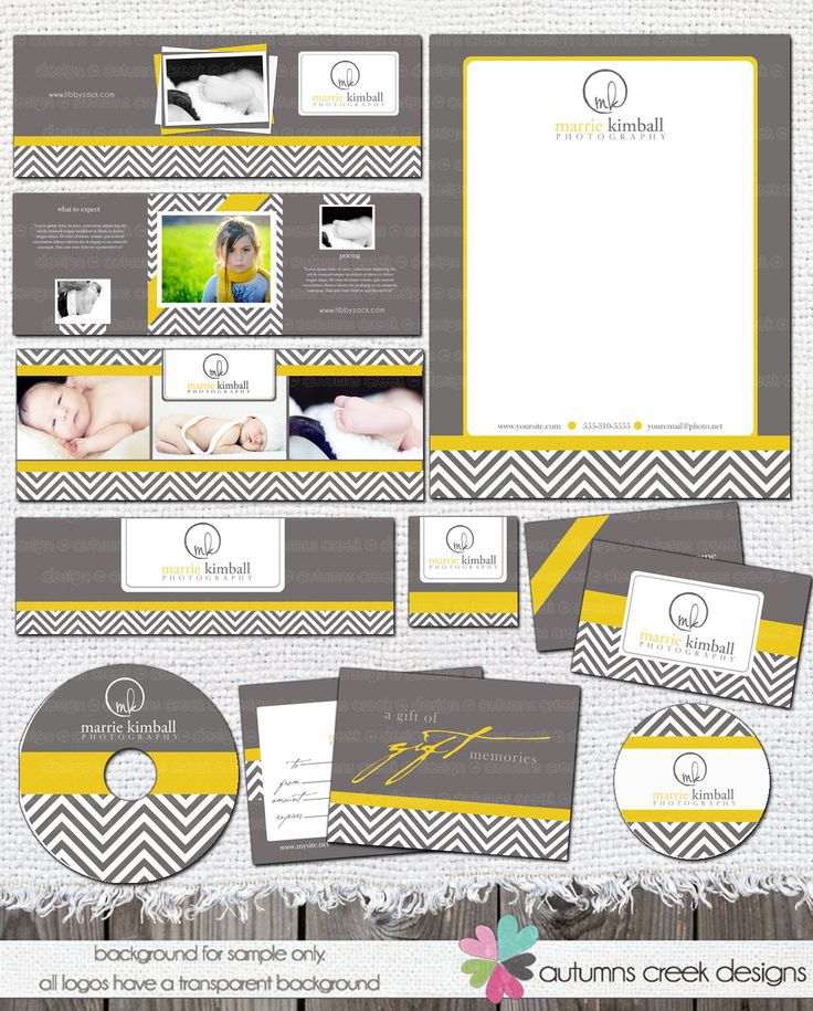 Chevron 12pc Marketing Set for Photographers Shop: Photoshop Templates Banner Business Card FB Timeline CD Letterhead photography. $40.00, via Etsy.