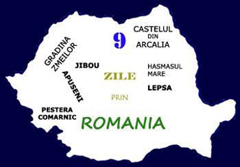 9 zile prin Romania
