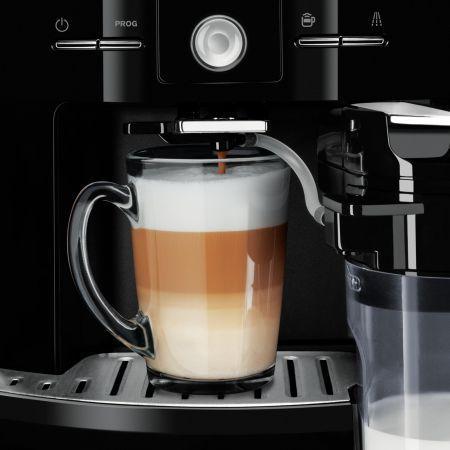 Krups Latt'Espress EA829P10 este un espressor de cafea de tip automat, modern şi inteligent, capabil să surprindă de fiecare dată cu o băutură proaspătă, aromată şi delicioasă. Design-ul plăcut cu finisaje elegante îl integrează excelent …