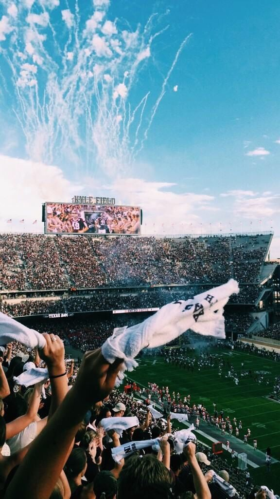 Proud to go to be an Aggie.  Not my picture. - Good Vibes.