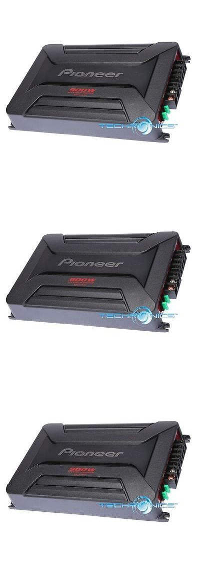 Car Amplifiers: Pioneer Gm-A5602 900W 2 Channel Mono Class Ab Bridgeable Car Audio Amplifier Amp -> BUY IT NOW ONLY: $64.5 on eBay!