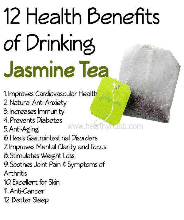12 Incredible Health Benefits of Jasmine Tea: #wellness #organic #anti oxidants