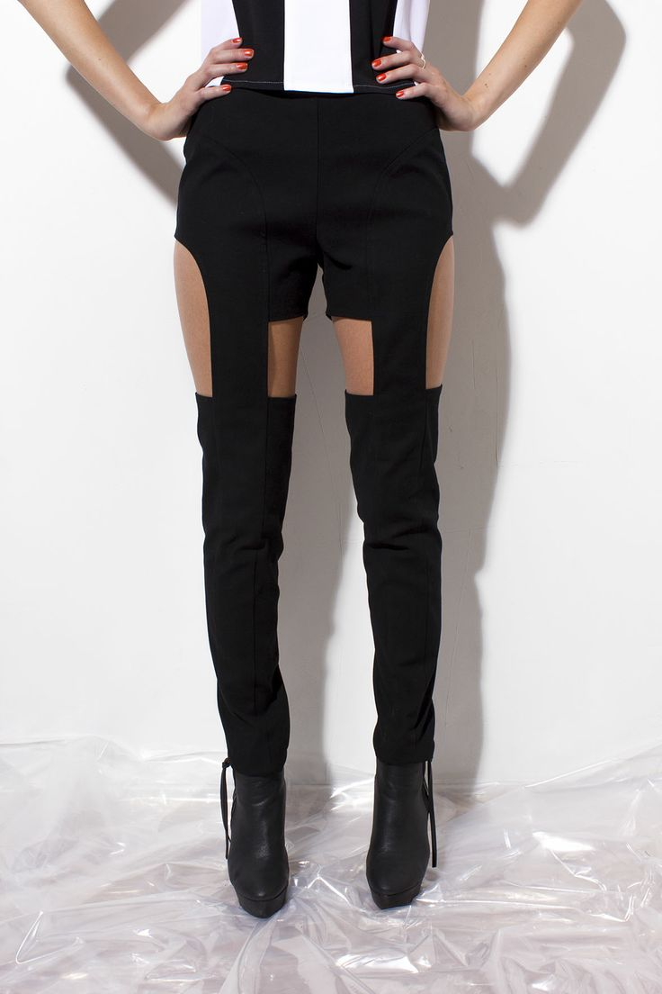 Ilona Cut-Out Pants now on Sale 155€! (before 185€)  www.juljafinland.com/shop