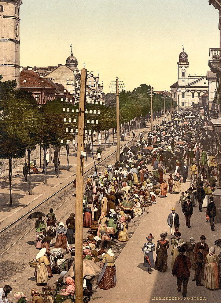 Debrecen Early 1900's,, Hungary ... Book & Visit HUNGARY now via www.nemoholiday.com or as alternative you can use hungary.superpobyt.com.... For more option visit holiday.superpobyt.com