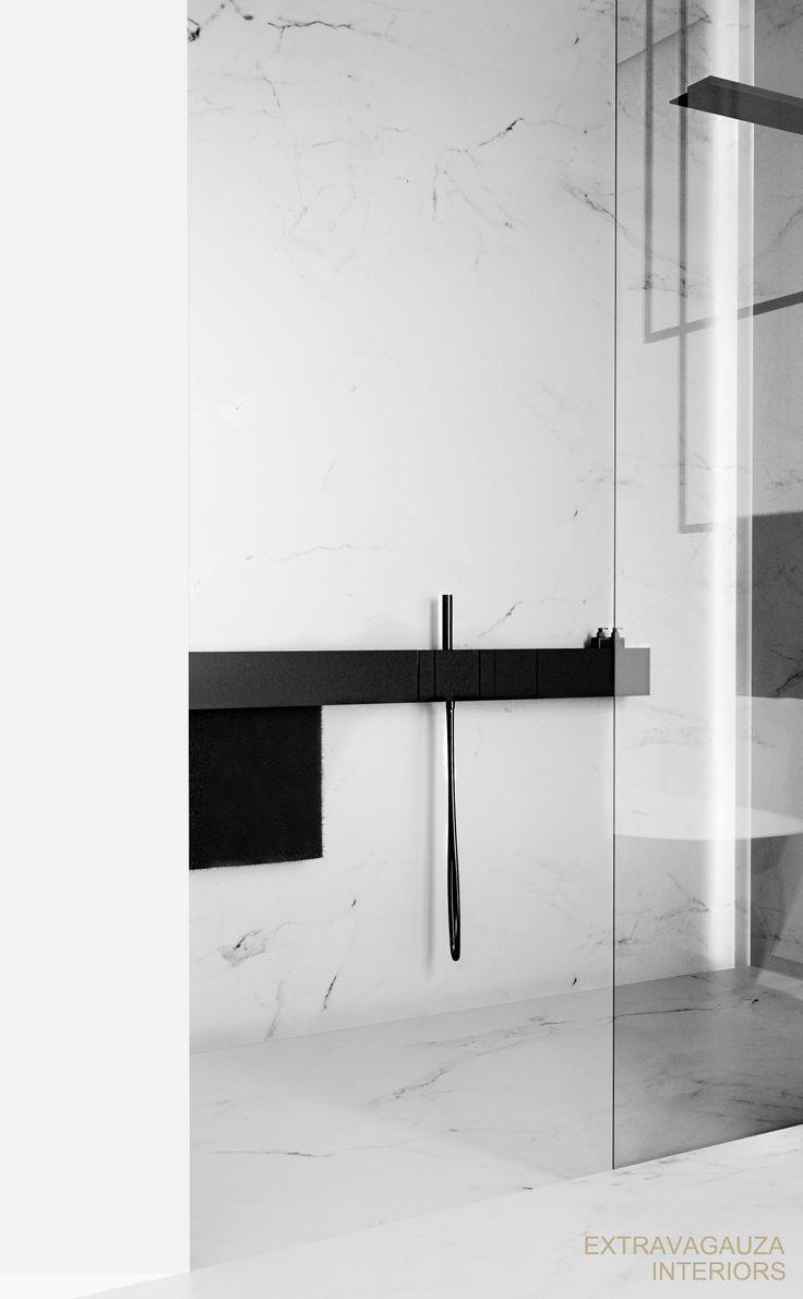 25 best minimalist bathroom design ideas on pinterest - Gorgeous modern vanity cabinets for minimalist bathroom interiors ...