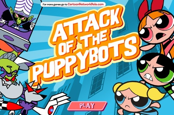 Save the poor puppies from their Puppybot shells and stop Mojo Jojo! Play now for free!