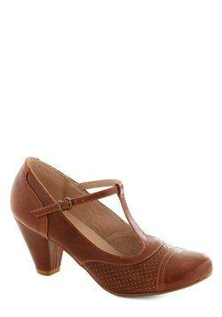 Just Like Honey Heel in Chocolate, #ModCloth