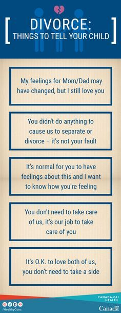 Parenting can be difficult, even when parents live together. After separation or divorce, parenting can be more challenging. Your children's basic needs don't change. There are things you can say and do to make it easier for them. Use this parenting guide to help: http://canada.justice.gc.ca/eng/fl-df/parent/mp-fdp/p1.html