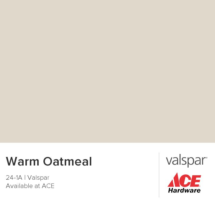 Room Painted In Valspar Warm Oatmeal
