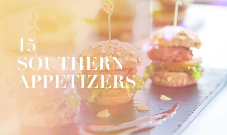 If there is one thing we know about the South, it is that the food is heavenly. Southerners havenailed the whole comfort food thing so when we get bored, we create new variations of these generational recipes. These are Southern appetizers are perfect for any family gathering, large or small or if…