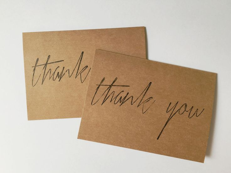 100 Thank You Cards by SouthJenni on Etsy https://www.etsy.com/ca/listing/461559776/100-thank-you-cards