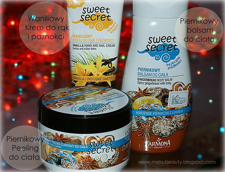 Mela Beauty: Piernikowe kosmetyki - Farmona Sweet Secret